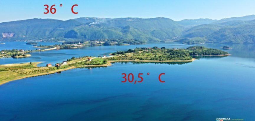 Toplinski udar: Temperatura u Rami i do 38 stupnjeva