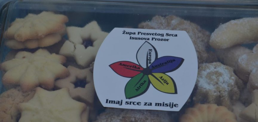 Foto: Prodaja domaćih proizvoda za potporu misijama