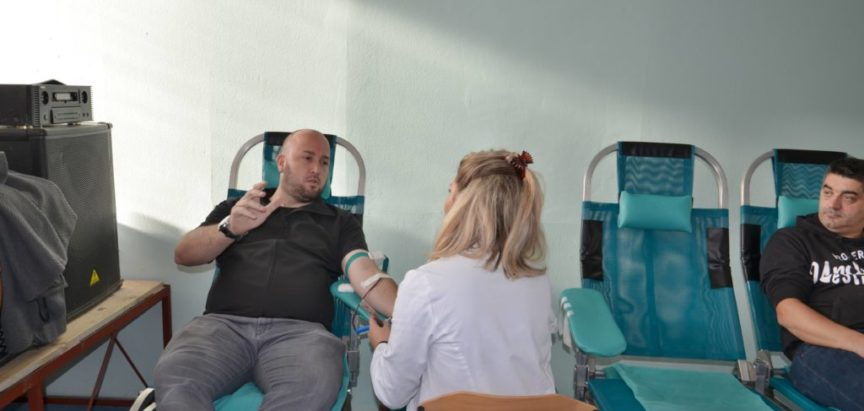 Foto: U Prozoru prikupljene 62 doze krvi