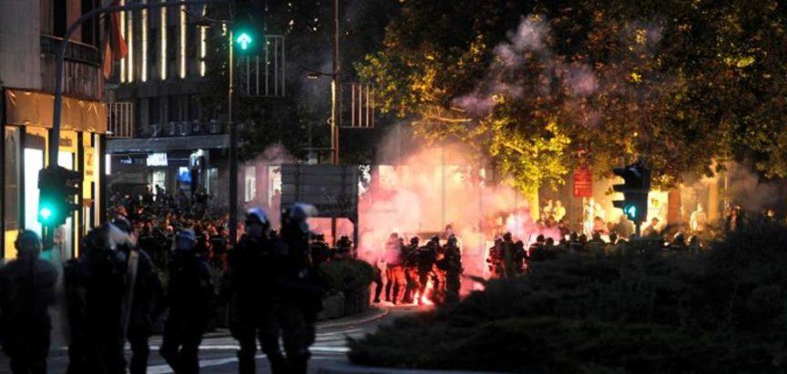 Prosvjedi i neredi u Beogradu