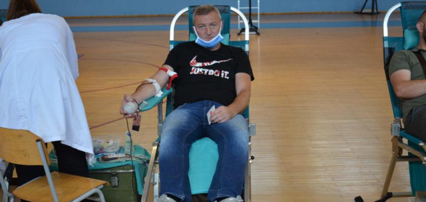 Foto: U Prozoru prikupljene 54 doze krvi