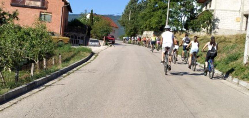 Ramski veslači biciklirali s članovima udruge Green Valley iz Jablanice