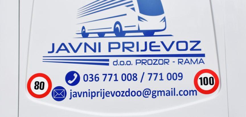 Javni prijevoz d.o.o.: Pojačan vozni park s dva sprintera