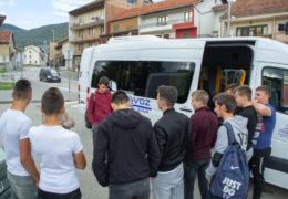 Praksa za učenike Srednje škole Prozor strojarske struke, bravari i CNC operateri, u tvornici GS TMT Travnik