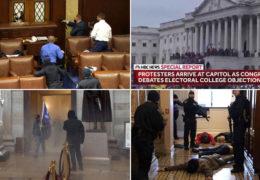 SAD: Prosvjednici upali u Kongres, ima i ranjenih, Republikanci preklinju Trumpa: 'Zaustavi ovo!'
