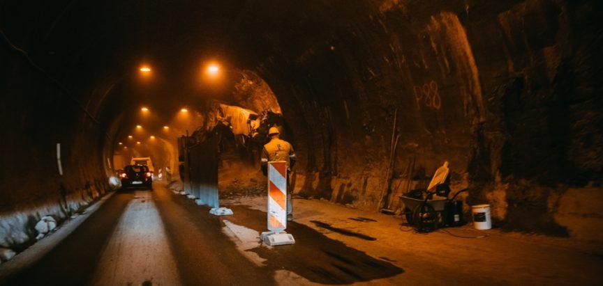 Radovi na tunelu Crnaja teku po planu, pauza od početka lipnja