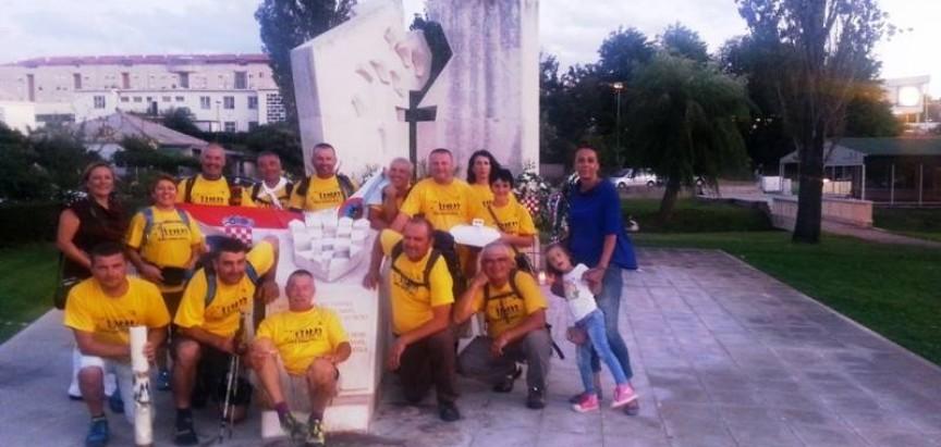 Stazom Gospi Sinjskoj: Od Rame do Solina hodočastili 160 kilometara