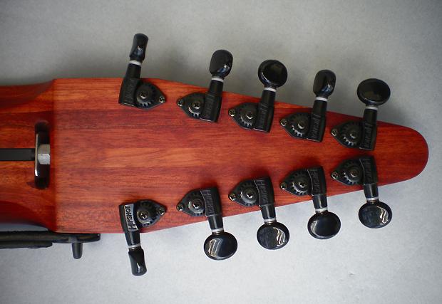 10弦 Chapman Stick、サティーネ堅木材
