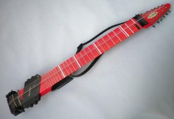 12弦 Grand Stick、竹「サーモン」染料