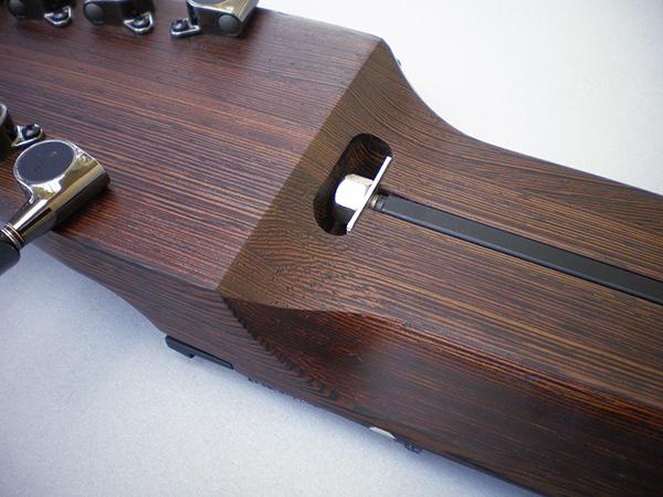 12弦 Grand Stick、ウエンゲ堅木材