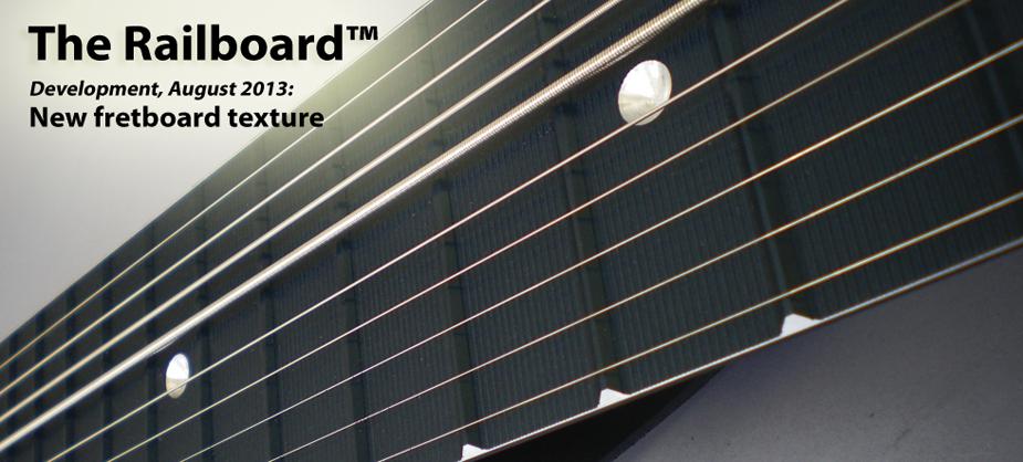 Railboard™:新しい表面処理