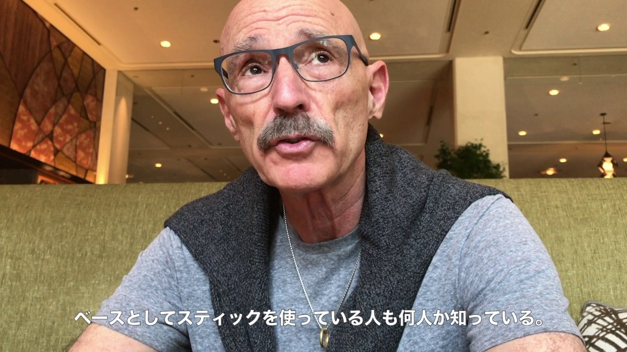 SJI: 2017 Tony Levin Interview   予告編