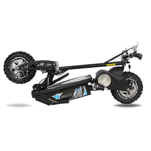 Pro X electric scooter folded