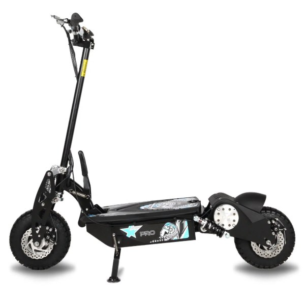 Ram Wheels Pro electric Scooter side veiw