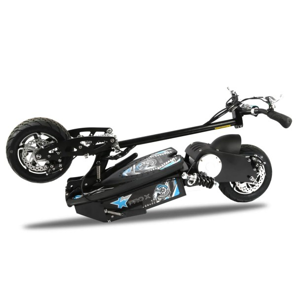 Pro X 1600W 48V Electric Scooter Folded View