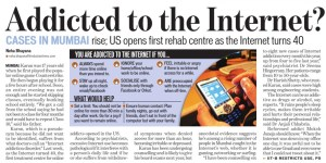 Addicted to the Internet - Neha Bhayana - HT 6Sept09