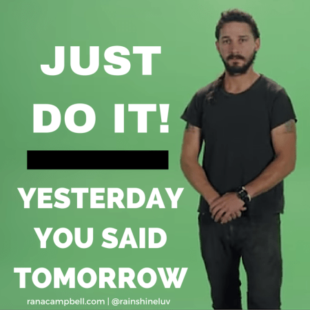 shia lebeouf motivational interview