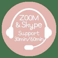 ZOOM&スカイプサポート