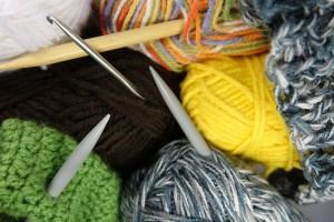 strikk pinner klær sy
