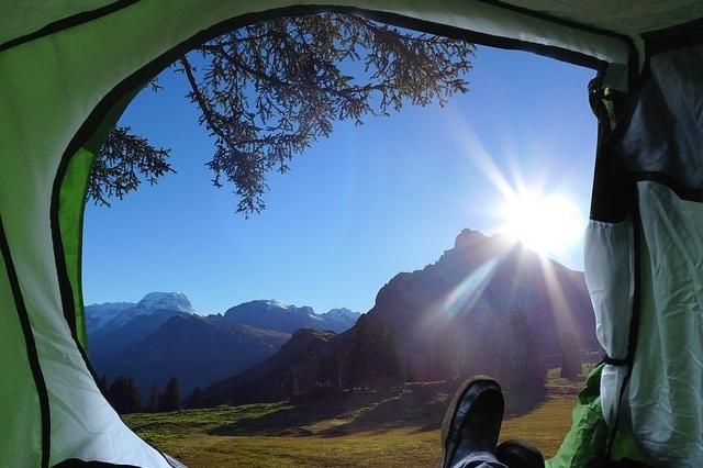 telt ferie camping