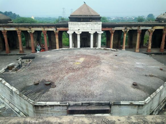 The octagonal tomb of Balban's son