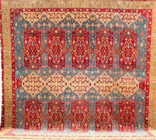 Size 2 7 X6 2 Agra Rug India: Jail Carpets In Mughal India