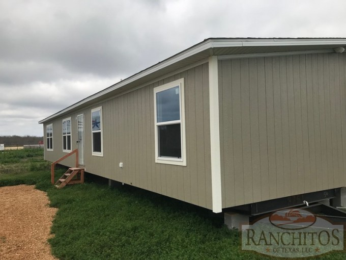Marvel 4 bed 2 bath doublewide manufactured home – Land for