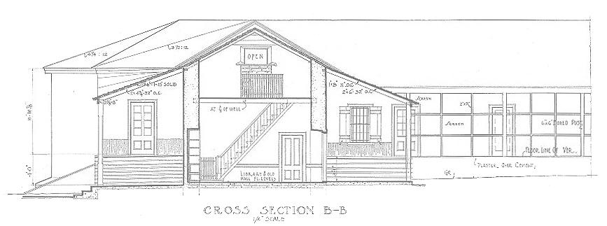 Historic American Buildings Survey Diagram, 1934 - Library of Congress