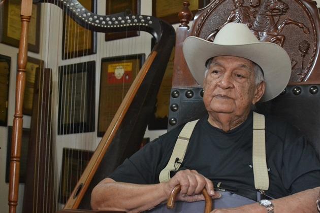 Juan Vicente Torrealba, 99 años de pasión por la música y la llanura