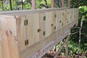 Tropical chicken coop design