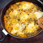 Vegetarian Yellow Shakshuka