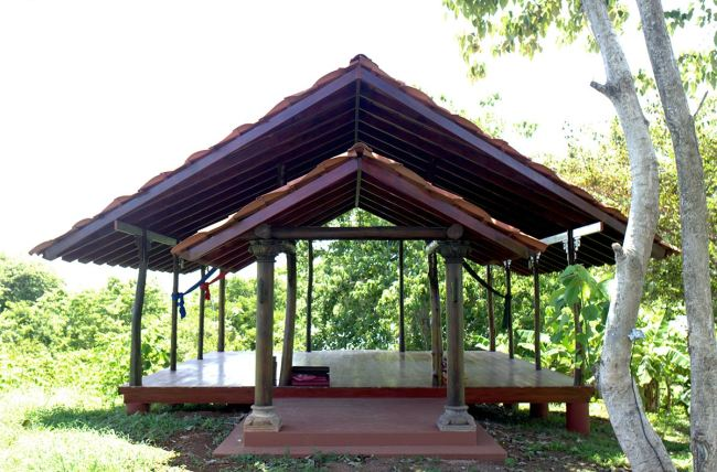 Our Yoga Deck
