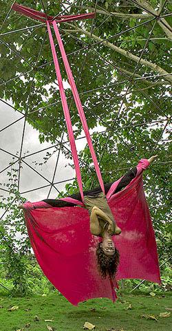 Aerial Silk Retreat Leader