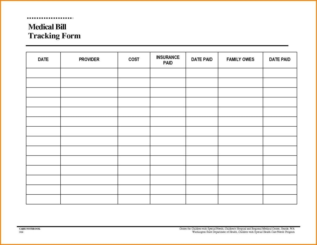 Bills Paid In And Out Sheet Template Calendar Design