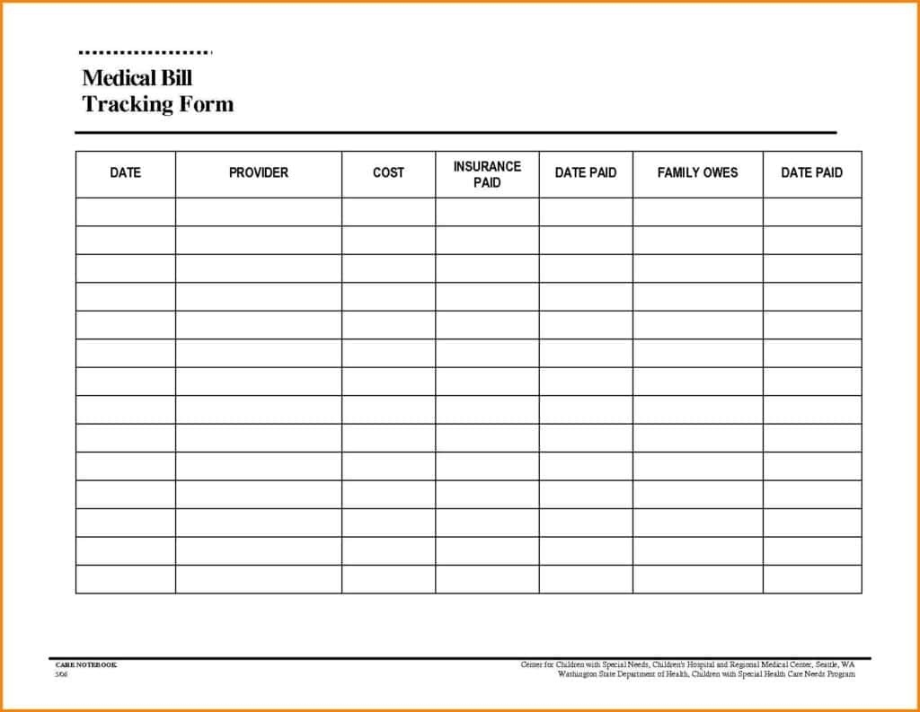Ine And Expense Worksheet Template