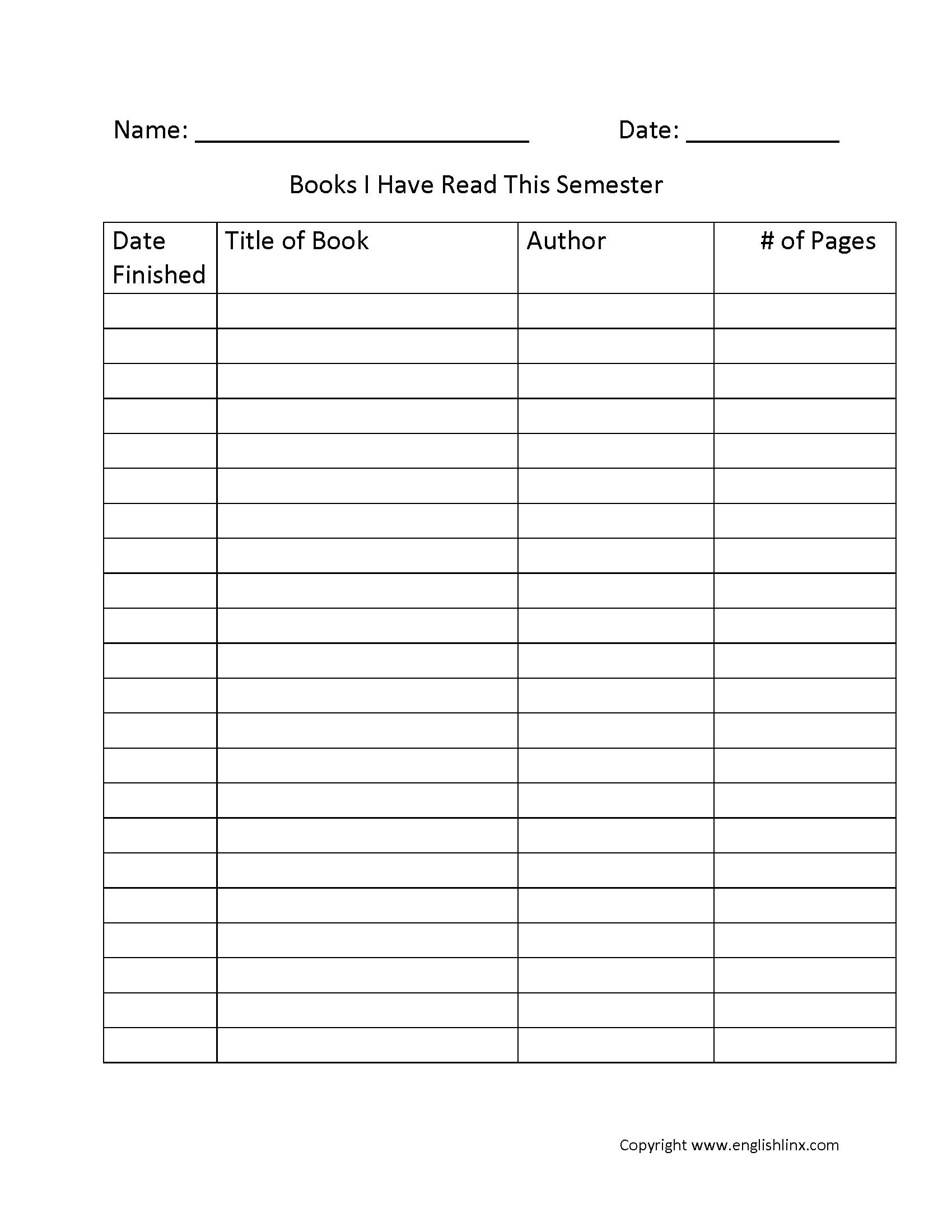 Dates Worksheet 3rd Grade