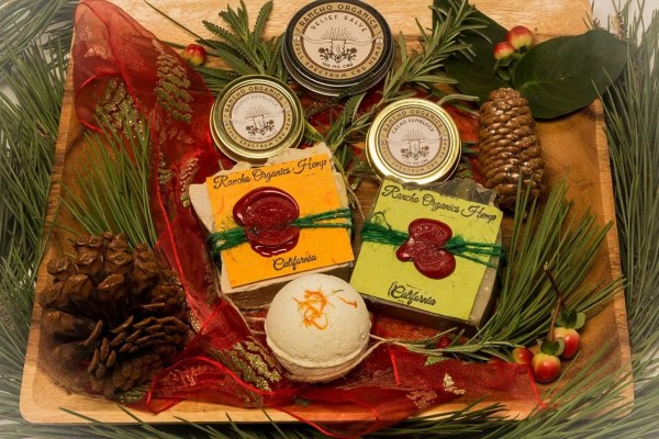 organic hemp CBD holiday package from Rancho Organics