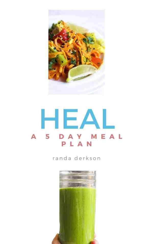 Healing Diet Meal Plan