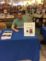 Author Randal Eldon Greene signing books at Barnes & Noble in Sioux City