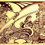 Mermaid and Guitar