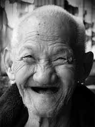 happy older face