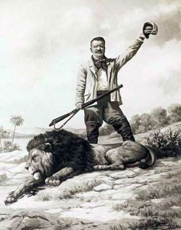 teddy with lion