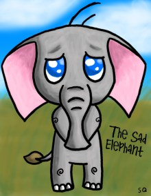 the_sad_elephant_by_squible