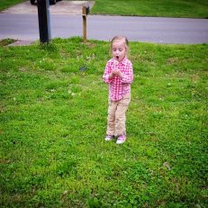Eden with dandelion