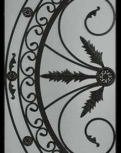 Belton Wrought Iron Door Insert