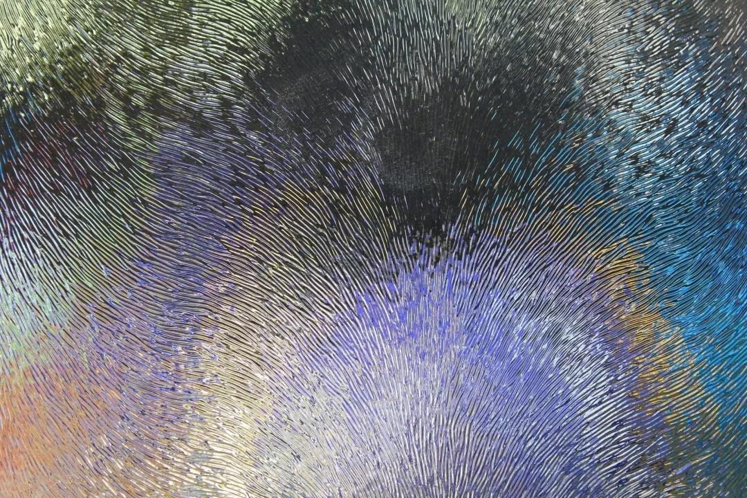 Chinchilla textured glass