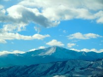 Pikes Peak from I25