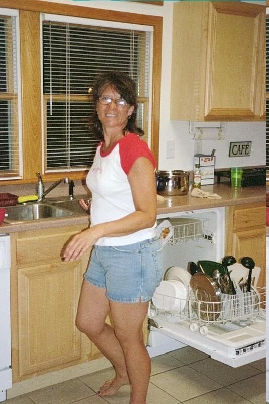 Ellen does dishwasher