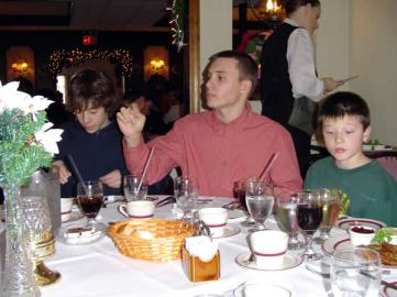 Steven, TJ, Craig at Niederstein's