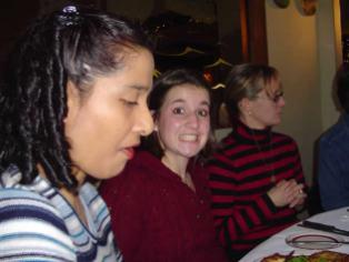 Lisa, Laura, Kathy at Niederstein's